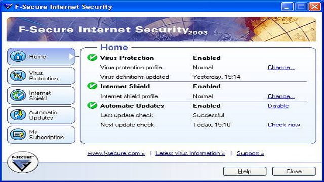 آنتی ویروس اف-سکیور