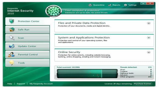 امنیت اینترنت کاسپرسکی