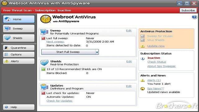 آنتی ویروس وبروت -آنتی اسپای ویر