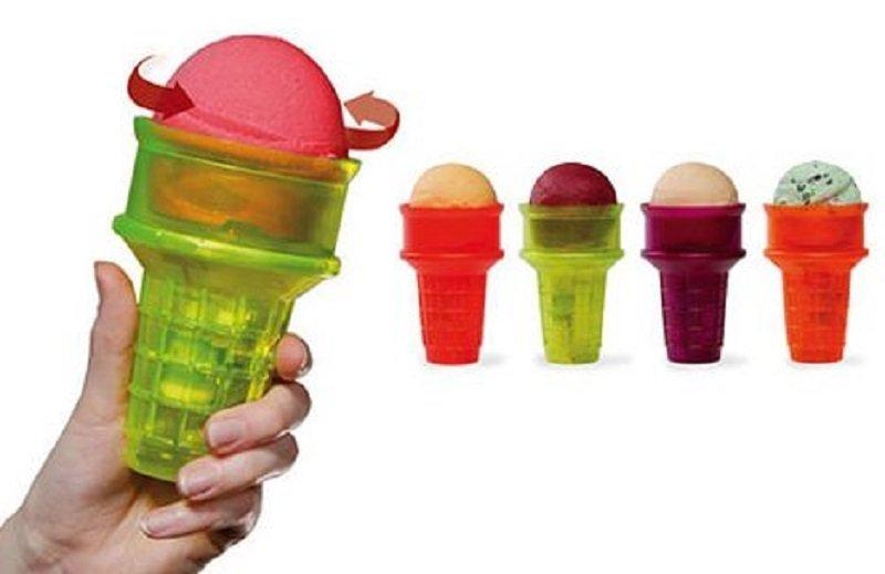 عجیب ترین اختراعات 3: قیف بستنی موتوری
