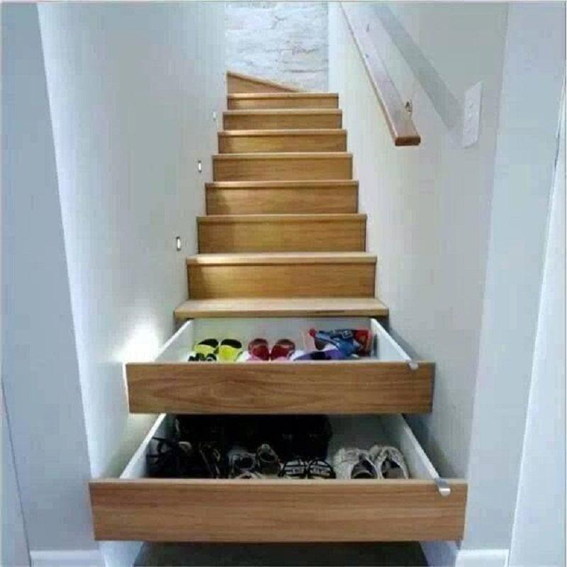راه پله با کشوی مخفی