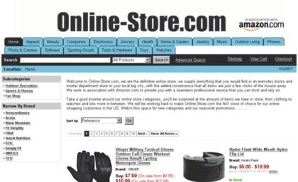 online store.com