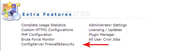 ConfigServer Firewall&Security