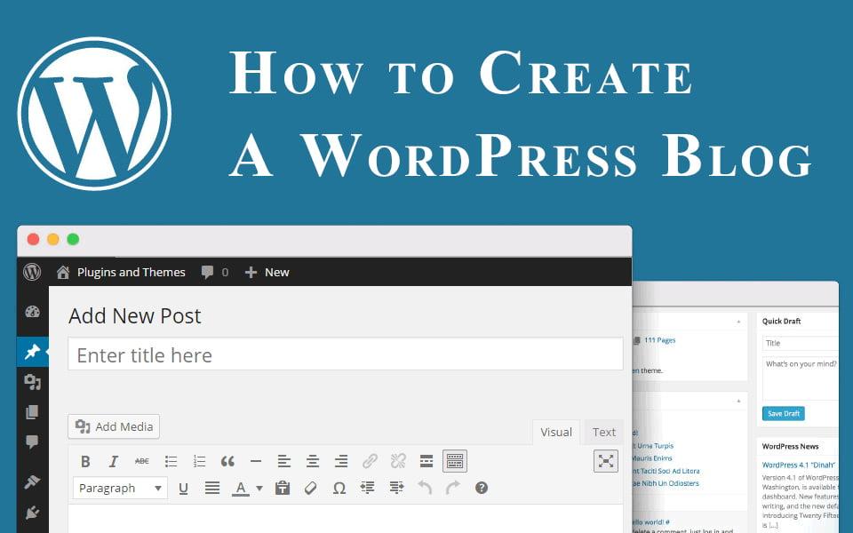 ساخت بلاگ در وردپرس