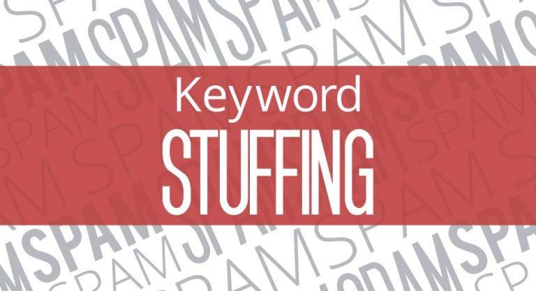 Keyword Stuffing و تاثیر منفی آن بر سئو