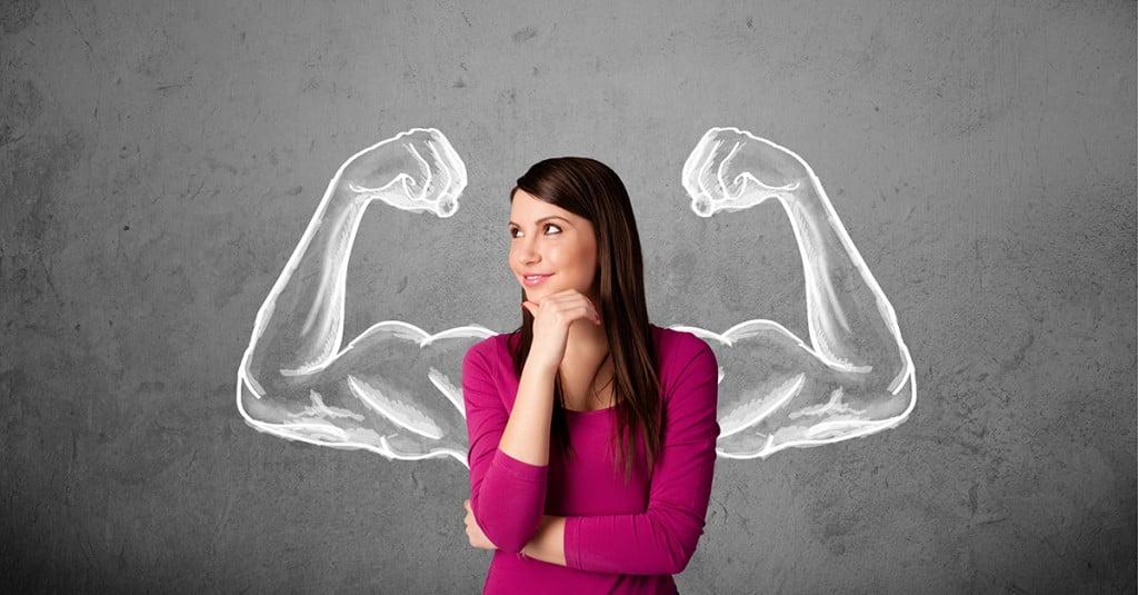 زن قوی
