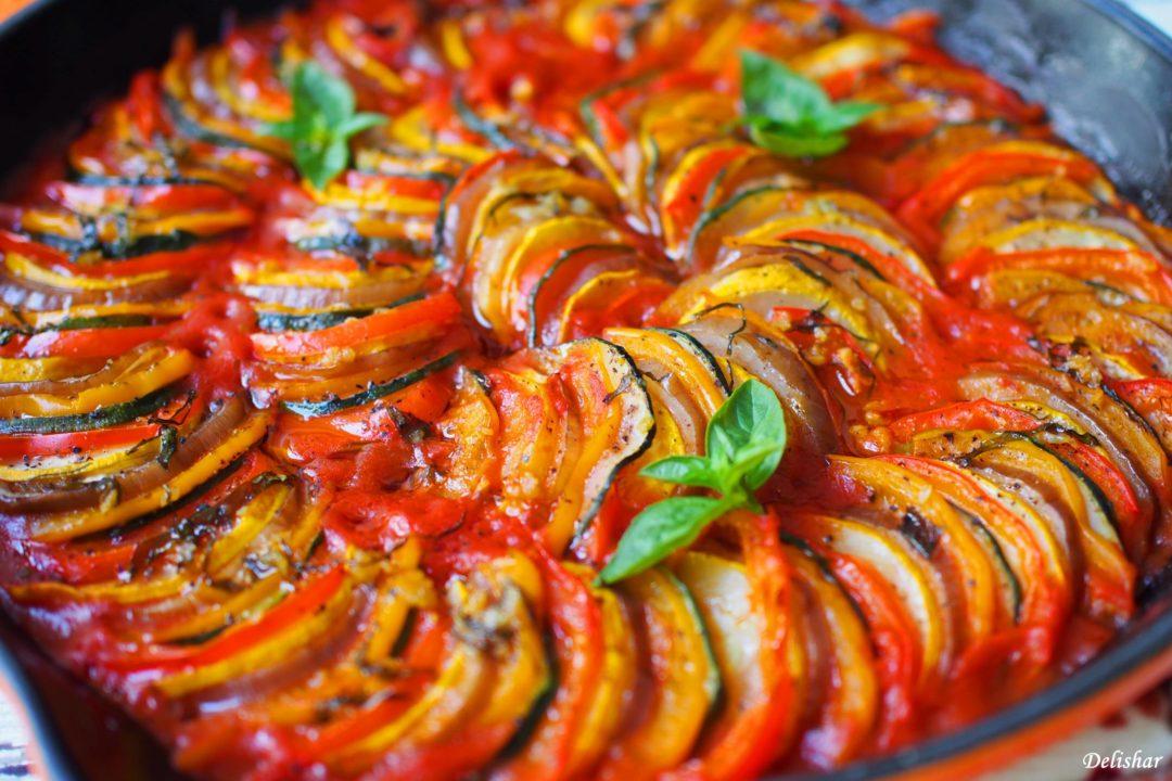 طرز تهیه راتاتویی غذای اصیل و خوشمزه فرانسوی