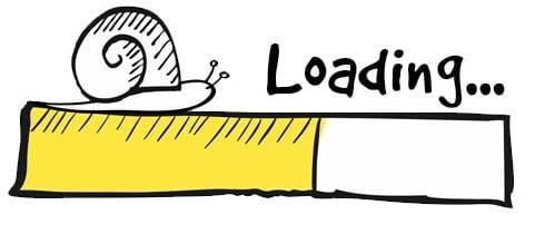 سرعت پایین بارگذاری سایت
