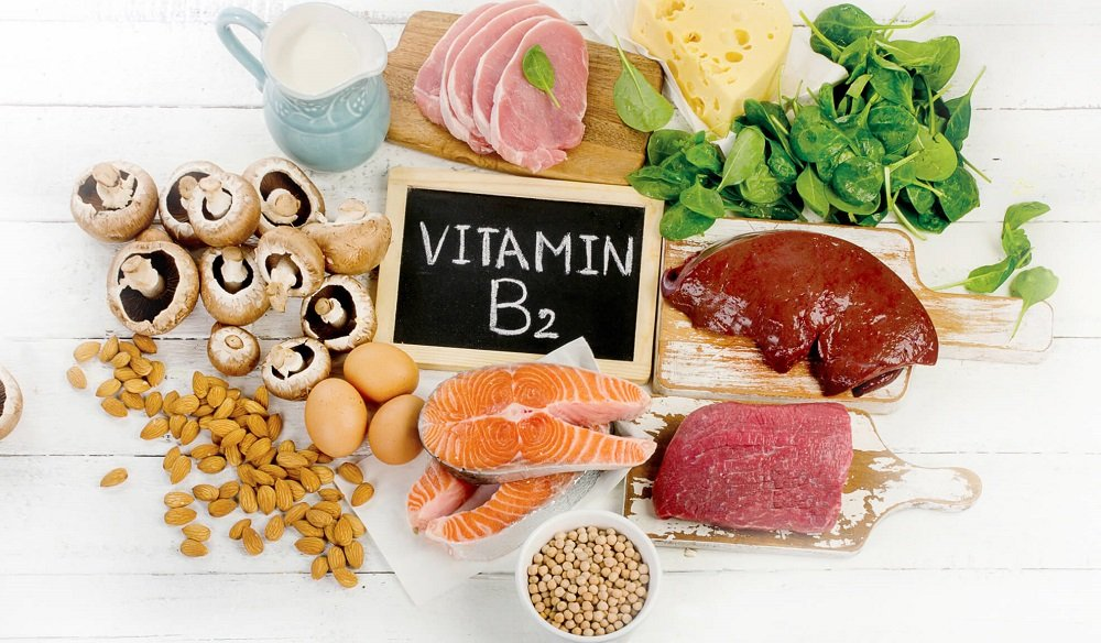 مواد غذایی سرشار از ریبو فلاوین یا ویتامین B2