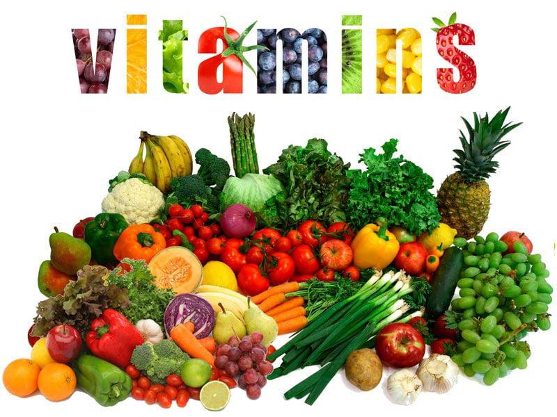 مصرف ویتامین