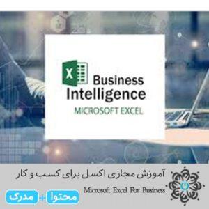 اکسل برای کسب و کار Microsoft Excel For Business