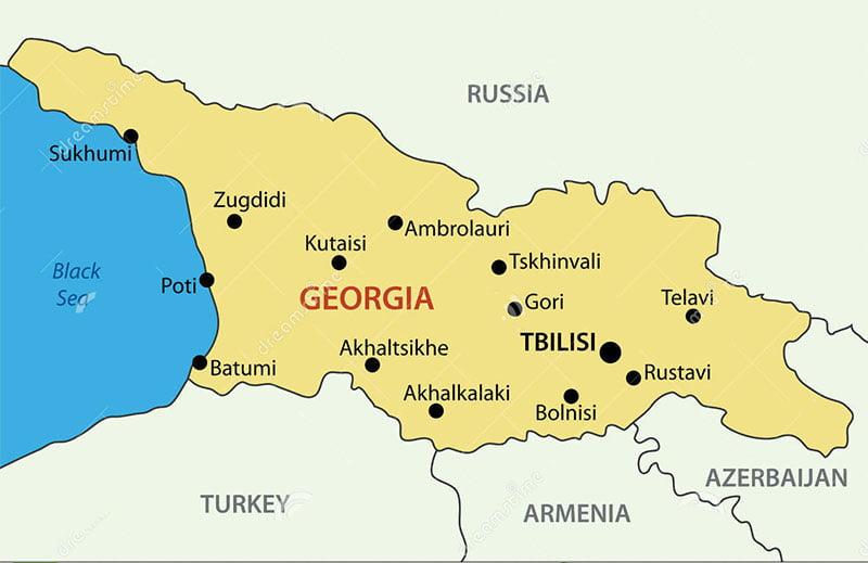 اقامت کاری گرجستان