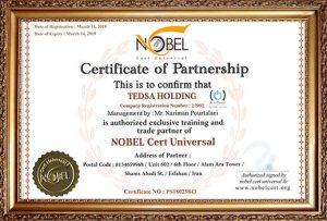 همکاری با کمپانی NOBEL