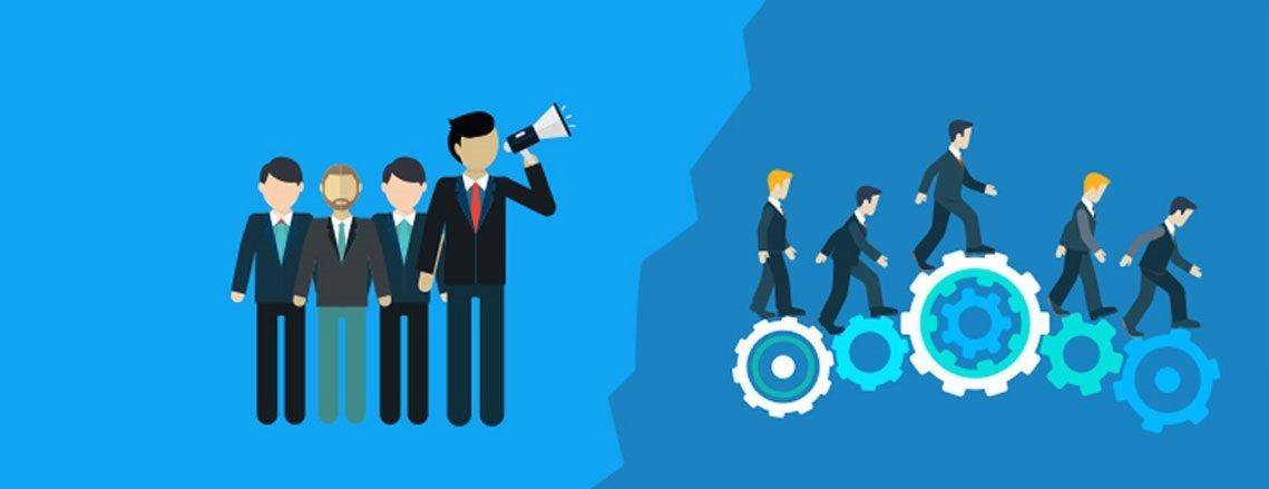 رهبران تحول در سازمان ها