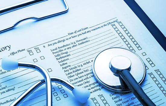 سوابق پزشکی