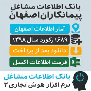 بانک اطلاعات مشاغل پیمانکاران اصفهان