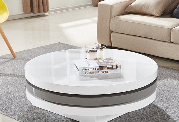 به میز وسط مبلمانتان سبکی تازه بدهید