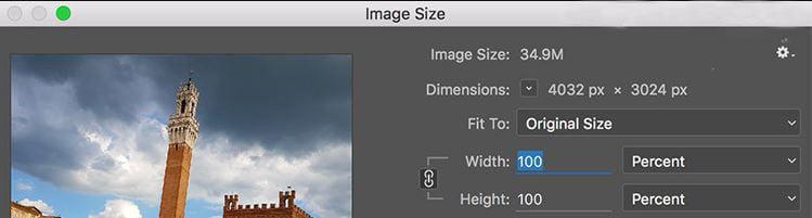 اندازه تصویر