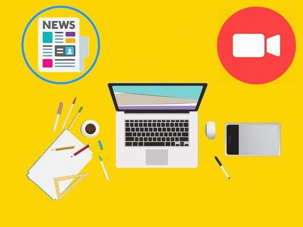 طراحی و اجراء وب سایت پایه خبری یا ویدئویی