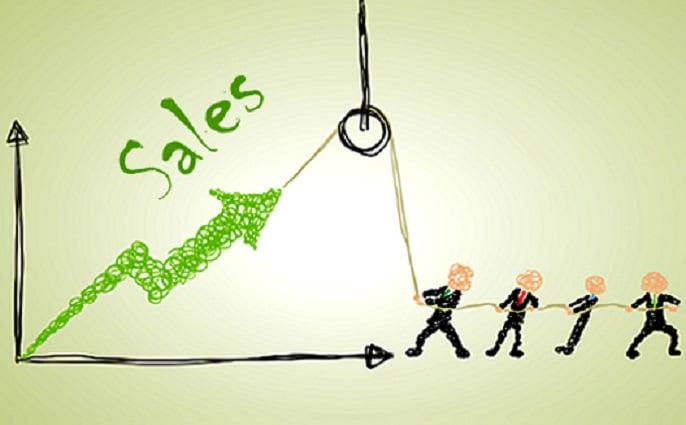 افزایش فروش پیش بینی شده