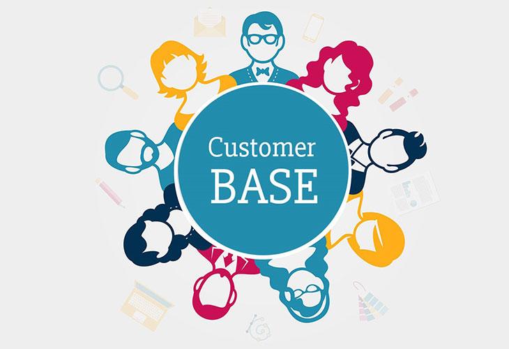 پایگاه مشتریان یا Customer Base