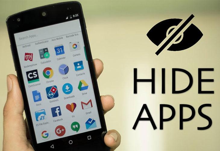 نحوه پنهان سازی برنامه ها در گوشی های اندروید