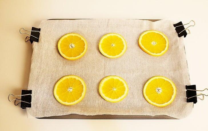 نحوه خشک کردن تکه های پرتقالنحوه خشک کردن تکه های پرتقال