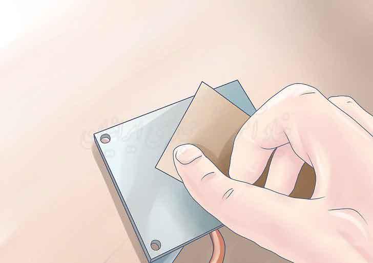 نحوه استفاده از چسب حرارتی یا گریس گرمایی