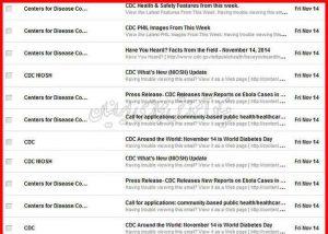 نحوه به روزرسانی وب سایت CDC